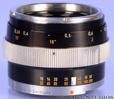 CONTAREX ZEISS BLITZ DISTAGON 35MM F4 BLACK LENS +FRONT CAP NICE!