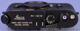 LEICA LEITZ M4 10400 MIDLAND BLACK CHROME RANGEFINDER CAMERA BODY +CAP MINT RARE