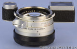 LEICA LEITZ 35MM SUMMILUX F1.4 1ST VERSION STEEL RIM M3 LENS +EYES +CAPS +FILTER