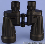 FUJI FUJINON 7x50 MILITARY GREEN/PURPLE IRIDIUM GRID BINOCULARS +CAPS + STRAP
