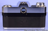CONTAREX PROFESSIONAL CHROME 35mm FILM SLR CAMERA BODY +CASE VERY CLEAN +RARE!