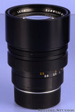 LEICA LEITZ 75MM SUMMILUX-M 11815 F1.4 M BLACK LENS GERMAN RARE! LATE # NICE!
