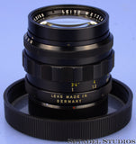 LEICA 50MM NOCTILUX F1.2 ASPHERICAL M LENS +SHADE +CAPS RARE 1st BATCH THICK RIM