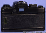 LEICA LEITZ R4 10046 BLACK SLR CAMERA BODY +CASE +STRAP +PAPERS CLEAN NICE