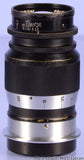 Leica Leitz 90mm Elmar F4 Black Paint SM WWII Lens w/ Case +Caps