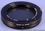 MAMIYA 7 7II 43mm 50mm 65mm 80mm 150mm LENS ZE702 POLARIZING FILTER W/ ADAPTER