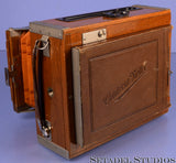 ZEISS CONTESSA NETTEL 4X5 WOODEN FOLDING PLATE CAMERA