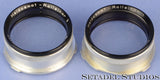 ROLLEI ROLLEIFLEX ROLLEINAR 1 2 BAY III CLOSEUP FILTER UV YELLW SET +CASE +SHADE