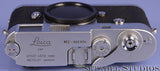 LEICA LEITZ M2 BUTTON REWIND 10308 CHROME RANGEFINDER CAMERA BODY +MATCHING BOX