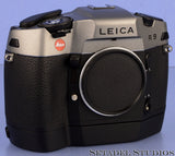 LEICA LEITZ MOTOR WINDER R8 R9 14209 BLACK CAMERA MOTOR GRIP VERY NICE