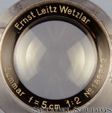 Leica 50mm Summar F2 Rigid Chrome SM Lens +Box Rare - Leica Lens - Setadel Studios Fine Photographic Equipment - 4