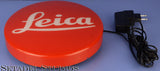 LEICA LEITZ RED DOT LOGO DEALER SIGN LIGHT FIXTURE FACTORY ORIGINAL 96228 24.5CM