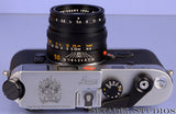 LEICA LEITZ M6 PANDA 10414 ROYAL PHOTOGRAPHIC SOCIETY CAMERA +50mm F2 SUMMICRON