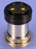 LEICA LEITZ 2PC. BLACK PAINT YELLOW FILTER SHADE 50MM E36 FLQOO, FISON, FOOKH