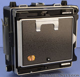 LINHOF MASTER TECHNIKA 4X5 VIEW FOLDING LARGE FORMAT CAMERA +GROUND GLASS