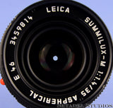 LEICA 35MM SUMMILUX-M F1.4 DOUBLE AA 1ST ASPHERICAL 11873 LENS +SHADE +CAPS +BOX
