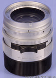 LEICA 35MM SUMMILUX-M F1.4 AA SILVER CHROME ASPHERICAL PROTOTYPE 11873 LENS 1/1 EXTREMELY RARE