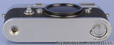 LEICA LEITZ M3 IGEMO 10150 SINGLE SS CHROME RANGEFINDER CAMERA BODY. VERY CLEAN!