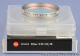 LEICA 10708 M8 WHITE CAMERA +CHROME ELMARIT-M 28MM F2.8 LENS SET. MINT 384 SHOTS