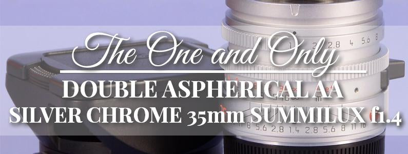 35mm Double Aspherical Prototype!