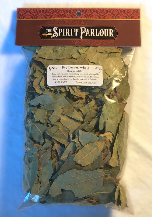 Bay Leaves, whole 2oz (Laurus nobilis)