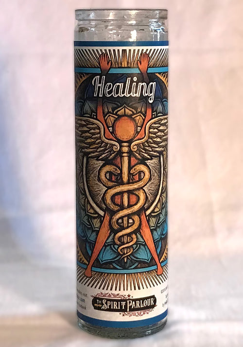 Healing Spell Jar Candle