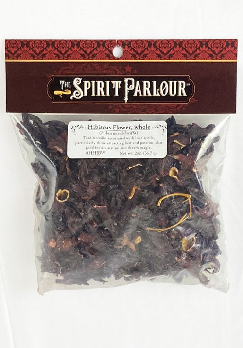 Hibiscus Flower Whole 2oz (Hibiscus sabdariffa)