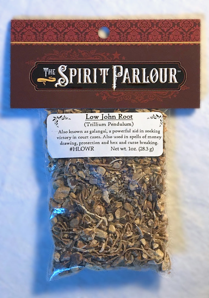 Low John Root 1oz wild crafted (Trillium pendulum)