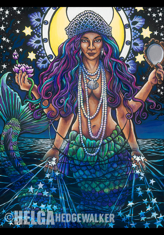 Yemaya - Mermaid (Print)