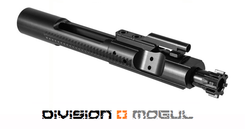 M16 5.56 BOLT CARRIER GROUP NITRIDE MP - Division Mogul