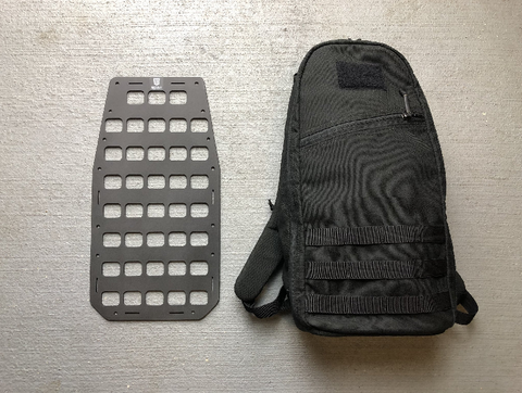 RIGID INSERT PANEL MOLLE (RIP-M) FOR GORUCK BULLET 10L - 8.875IN X 17IN - DIVISION MOGUL