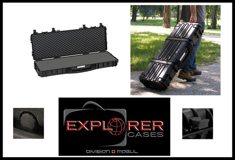 Explorer 9413 Black Long Gun Case- Division Mogul