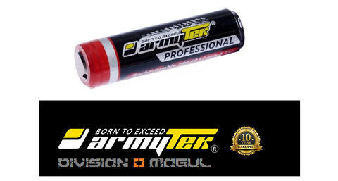 18650 LI-ION 3400MAH RECHARGEABLE PROTECTED - Division Mogul