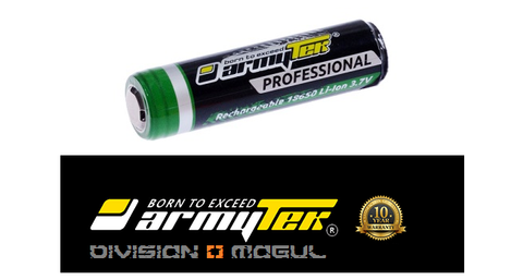 18650 LI-ION 3100MAH RECHARGEABLE PROTECTED - Division Mogul