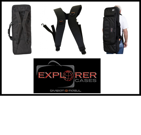 Explorer Case Backpack Carrying System for Gunbags- Division Mogul