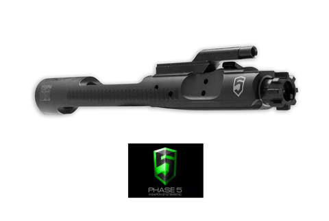 AR-15 CHROME LINED BLACK PHOSPHATE COMPLETE BOLT CARRIER GROUP-Division Mogul