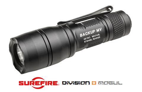 E1B BACKUP WITH MAXVISION HIGH OUTPUT LED FLASHLIGHT - Division Mogul