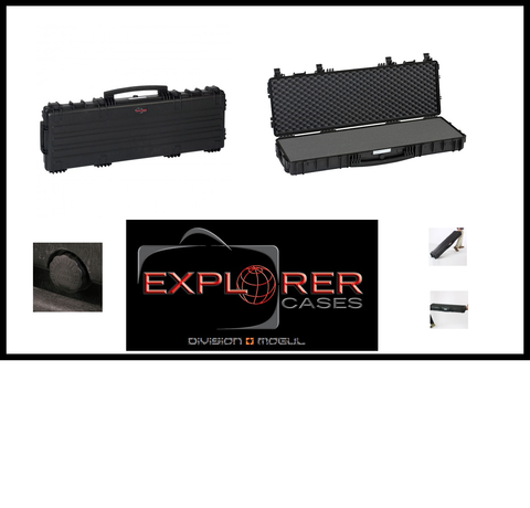 Explorer 11413 Black Long Gun Case