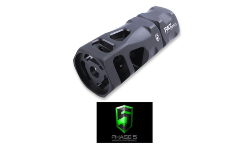 PHASE 5 FATMAN HEX BRAKE - 5.56/.223 - 1/2 X 28 TPI-Division Mogul