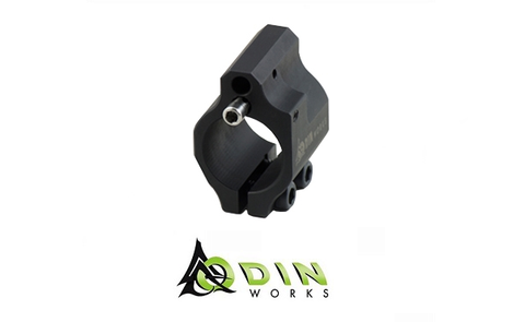 CLAMP ON ADJUSTABLE LOW PROFILE GAS BLOCK - Division Mogul