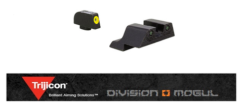 TRIJICON HD XR NIGHT SIGHT SET FOR GLOCK 20 PISTOL - Division Mogul
