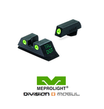 GLOCK 20 FIXED SET - TRU DOT NIGHT SIGHT - Division Mogul