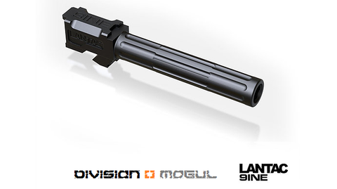 GLOCK 9INE G17 NON - THREADED UPGRADE BARREL - Division Mogul
