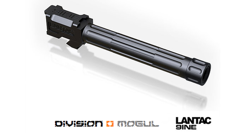 GLOCK 9INE G17 THREADED UPGRADE BARREL - Division Mogul