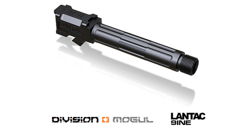 GLOCK 9INE G19 THREADED UPGRADE BARREL - Division Mogul