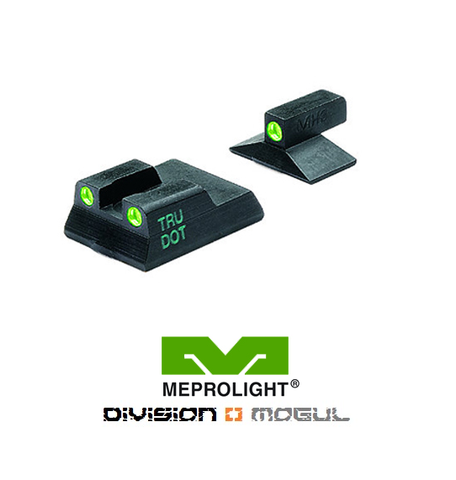 H&K P7M8 & M10 FIXED SET - TRU DOT NIGHT SIGHTS - Division Mogul