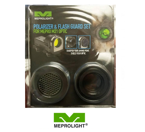 MEPROLIGHT M21 POLARIZER & FLASH GUARD KIT - Division Mogul