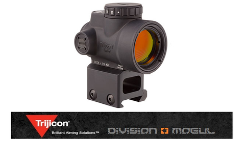 MRO - 2.0 MOA ADJUSTABLE RED DOT WITH LOWER 1/3 CO-WITNESS MOUNT - Division Mogul