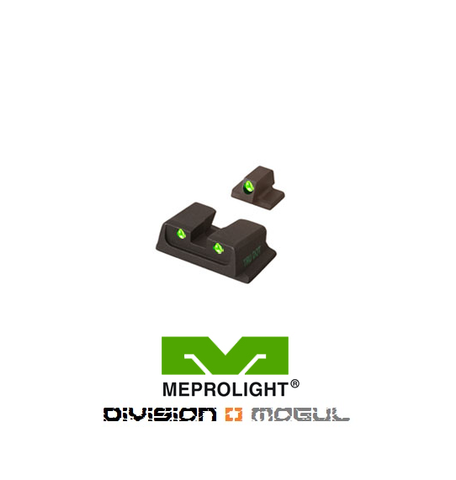 SMITH & WESSON M&P FIXED SET - TRU DOT NIGHT SIGHTS - Division Mogul