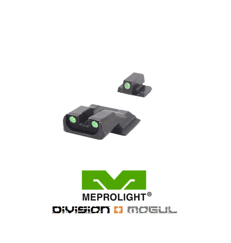 SMITH & WESSON M&P SHIELD FIXED SET - TRU DOT NIGHT SIGHTS - Division Mogul